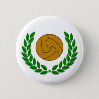 Traditional football/soccer badge 2 inch round button