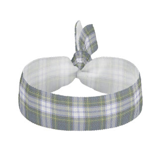 Traditional Gordon Dress Tartan Plaid Head Band Hair Tie