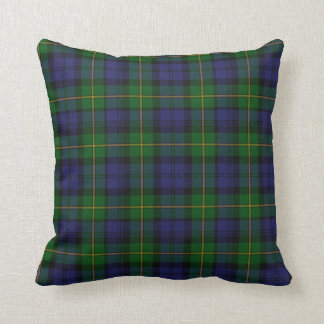 Traditional Gordon Tartan Plaid Pillow