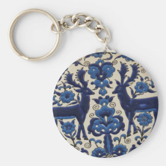 Traditional Greek Ceramic Tiles Key Chains