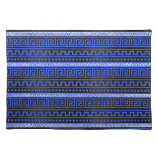 Traditional Greek Meander Pattern Placemat