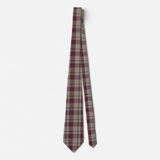 Traditional Harmon Dress Plaid Neck Tie