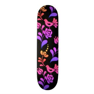 Traditional & Hip European Folk Art Skateboard Deck