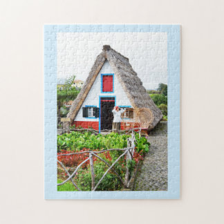 Traditional house in Santana Jigsaw Puzzle