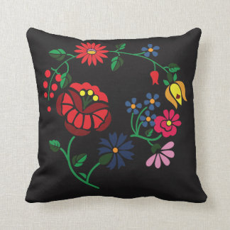 Traditional Hungarian flower Embroidery Cushion