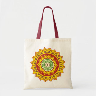 Traditional Indian style Mandana Tote Bag