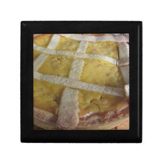 Traditional italian cake Pastiera Napoletana Trinket Boxes