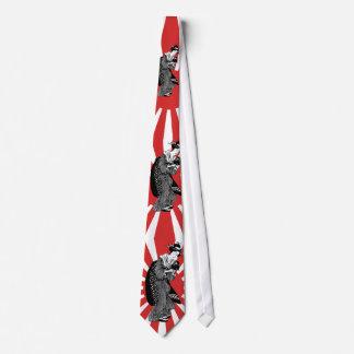 Traditional Japanese ukiyoe woman Tie
