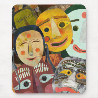 Traditional Korean Masks Mousepad