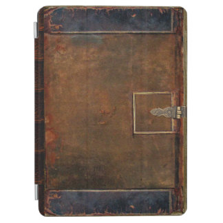 Traditional Leather Book Cover iPad Air Cover