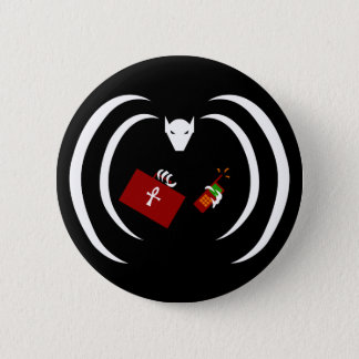 Traditional Logo on Button