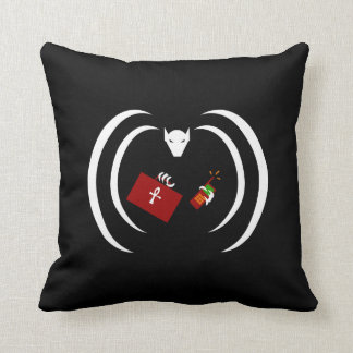 Traditional Logo on Throw Pillow