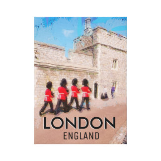 Traditional London Canvas Print
