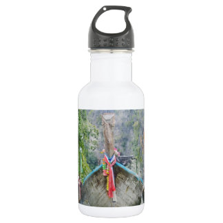 Traditional Long Boat in Thailand 532 Ml Water Bottle