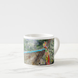 Traditional Long Boat in Thailand Espresso Cup