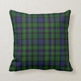Traditional MacBride Clan Tartan Plaid Throw Pillow