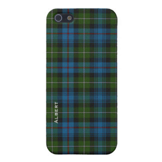 Traditional MacKenzie Tartan Plaid Custom Cover For iPhone 5/5S