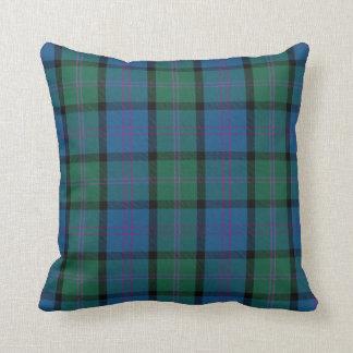 Traditional MacThomas Clan Tartan Plaid Throw Pillow