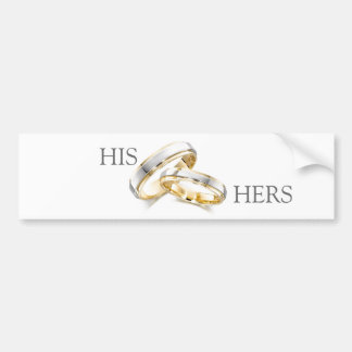 Traditional Marriage Bumper Sticker