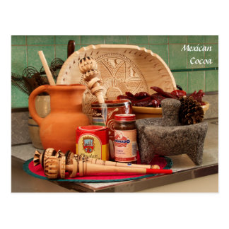Traditional Mexican_Cocoa Postcard
