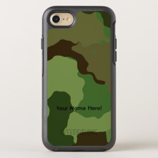 Traditional military camouflage OtterBox symmetry iPhone 8/7 case