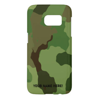 Traditional military camouflage samsung galaxy s7 case