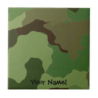 Traditional military camouflage. tile