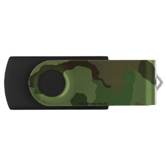 Traditional military camouflage USB flash drive