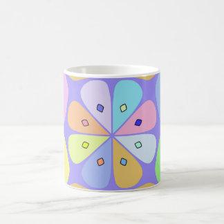 "Traditional model Mug ""Fleur stylized Pastel """