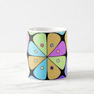 "Traditional model Mug ""Fleur stylized Pop Art """