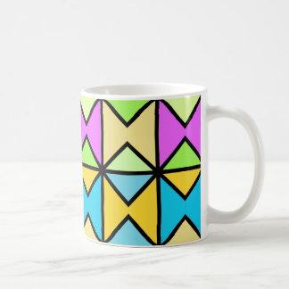 "Traditional model Mug ""Geometrical coloured Pop"