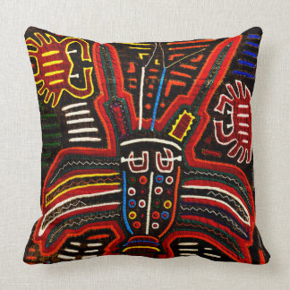 Traditional Mola art pillow