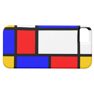 Traditional Mondrian iPhone 5 Covers