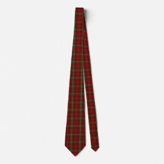Traditional Morrison Tartan Plaid Tie
