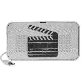 Traditional Movie Clapper-Board iPhone Speaker