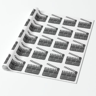 Traditional Movie Clapper-Board Wrapping Paper