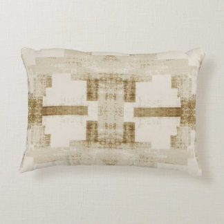'Traditional' Neutral Pattern Decorative Pillow