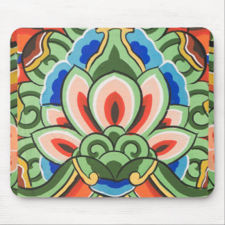 traditional pattern mouse pad
