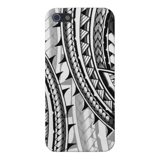 Traditional Polynesian tribal design/tattoo iPhone 5/5S Covers