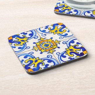 Traditional Portuguese Azulejo tile Coaster