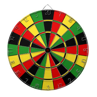 Traditional Rasta Dartboard