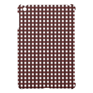 Traditional red chequered pattern, worker clothing case for the iPad mini