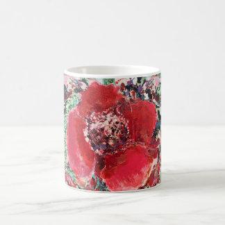 Traditional Red flower Mug 325 ml