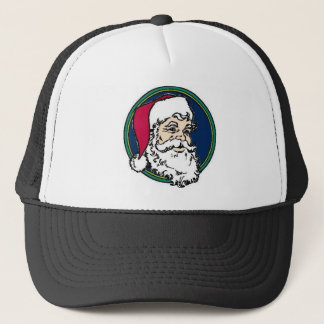 Traditional Santa Face Trucker Hat