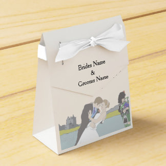 Traditional Scottish and Celtic Wedding Theme Favor Box