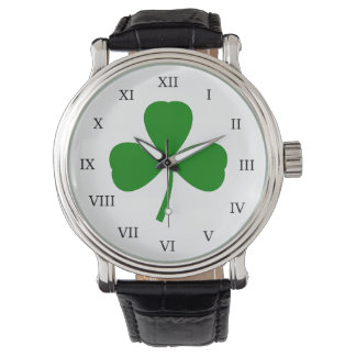 Traditional Shamrock Watch