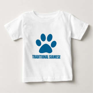 TRADITIONAL SIAMESE CAT DESIGNS BABY T-Shirt