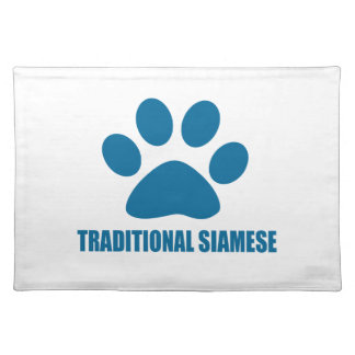 TRADITIONAL SIAMESE CAT DESIGNS PLACEMAT