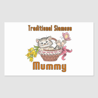 Traditional Siamese Cat Mom