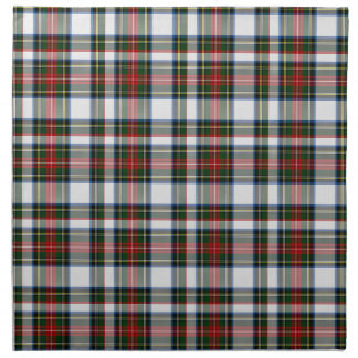 Traditional Stewart Dress Plaid Cloth Napkin